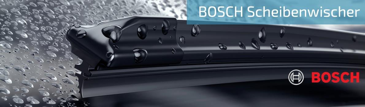 Qualitäts-Scheibenwischer von Bosch